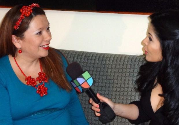 Fanny Gutierrez Interviewing Evelyn Brooks