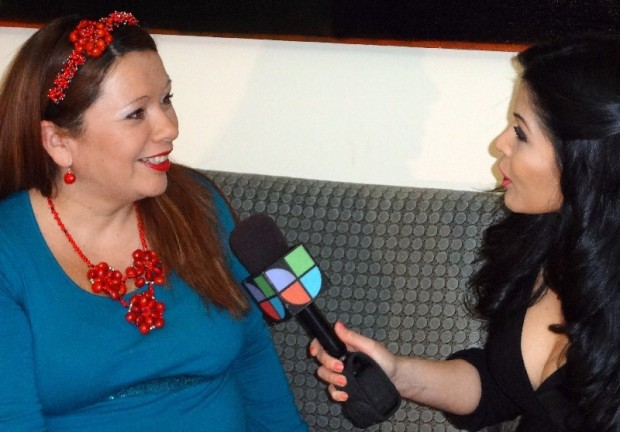 Fanny Gutierrez Interviewing Evelyn Brooks