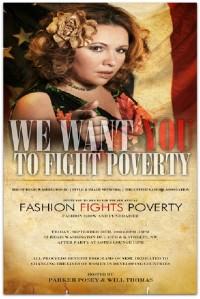Evelyn Brooks es una de las personas que ayudo a recaudar fondos para la campaña Fashion Fights Poverty