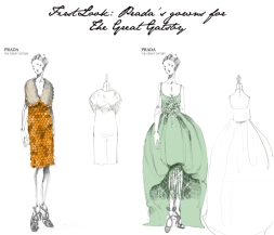 Prada's designs for Gatsby film fashion (PHOTO FROM: http://www.fashionfoiegras.com/)
