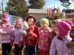 Enjoying and outdoor play time