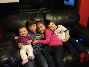 Tyler and his cousins