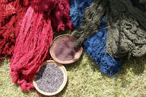 Wool dyed red with crushed cochineal. (Photo courtesy of putneymark/Flickr)