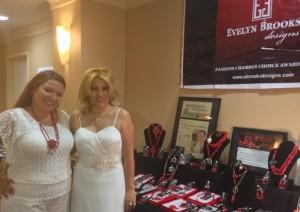 Evelyn Brooks con Heidi Castrillon directora de Biz USA Peru y America