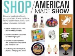 American Made Show postcard I.001