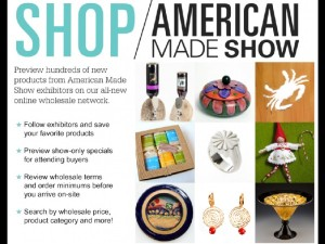 American Made Show postcard I.001