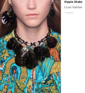 hippie necklace --