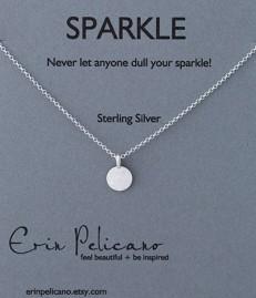 Erica Pelicano Sparkle necklace product card